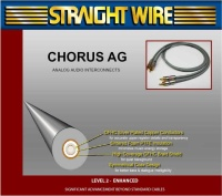 Straight Wire Chorus AG IC - Стерео кабель  RCA