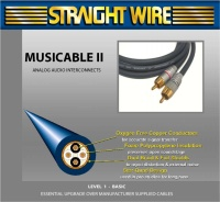 Straight Wire Musicable II SUB - Кабель для сабвуфера (RCA-2RCA)